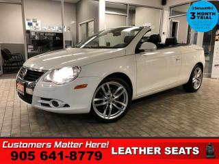 Used 2007 Volkswagen Eos 2.0T  CONVERTIBLE LEATH HS AUTO 17'-AL for sale in St. Catharines, ON