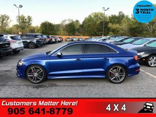 Used 2015 Audi A3 2.0T Technik Quattro  AWD NAV ROOF CAM PREM-AUDIO for sale in St. Catharines, ON