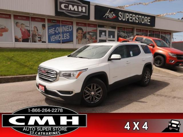 2017 GMC Acadia SLT-1  AWD NAV LEATH 6-PASS P/GATE CAM BS