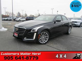 Used 2015 Cadillac CTS Luxury  AWD NAV ROOF HS CS PREM-AUDIO BS for sale in St. Catharines, ON