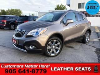 Used 2014 Buick Encore Premium  LEATH P/SEAT P/GATE LD BS CAM for sale in St. Catharines, ON