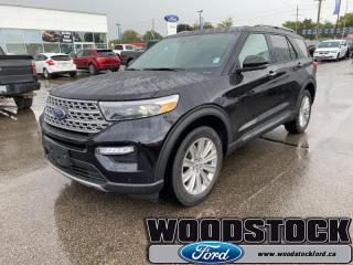 Used 2020 Ford Explorer Limited  - Leather Seats - Sunroof for sale in Woodstock, ON