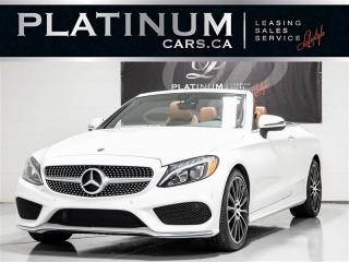 Used 2017 Mercedes-Benz C300 4MATIC, CONVERTIBLE, AMG, NAVI, CAMERA for sale in Toronto, ON