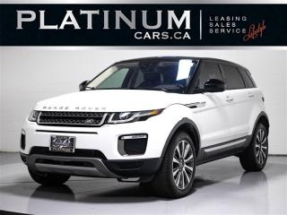Used 2016 Land Rover Evoque HSE, NAVI, PANO, CAMERA, HEATED SEATS, PR LIFTGATE for sale in Toronto, ON