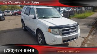 Used 2008 Ford Escape Limited for sale in Edmonton, AB