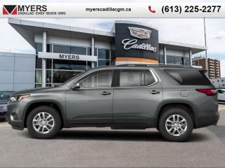 Used 2020 Chevrolet Traverse LT Cloth  - Heated Seats for sale in Ottawa, ON