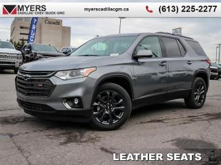 New 2020 Chevrolet Traverse RS  - Sunroof - Leather Seats for sale in Ottawa, ON