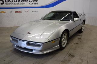 Used 1986 Chevrolet Corvette Coupe *** Kit Greenwood, très propre, bas KM !! ** for sale in Rawdon, QC