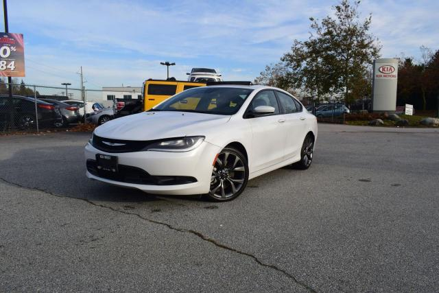 2015 Chrysler 200 S AC/AUTO/ROOF/LEATHER/PL/P