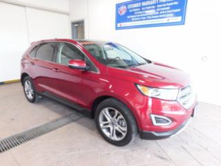Used 2017 Ford Edge Titanium LEATHER NAVI SUNROOF for sale in Listowel, ON