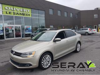 Used 2012 Volkswagen Jetta TDI Highline, MAGS, 107457 KM, CUIR, TOIT OUVRANT for sale in Chambly, QC