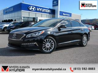 Used 2015 Hyundai Sonata 2.4L LIMITED  - $108 B/W for sale in Kanata, ON
