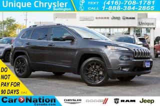Used 2016 Jeep Cherokee NORTH| 4X4| PANORAMIC SUNROOF| PWR TAILGATE for sale in Burlington, ON