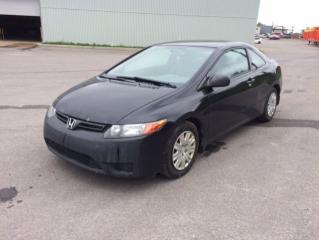 Used 2008 Honda Civic 2 portes, boîte manuelle, DX for sale in Quebec, QC