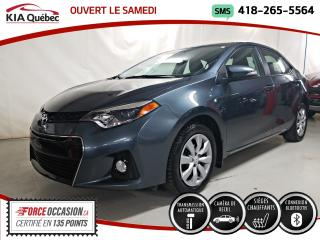 Used 2016 Toyota Corolla S* AT* SIEGES CHAUFFANTS* A/C* CAMERA* for sale in Québec, QC