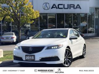 Used 2015 Acura TLX 3.5L SH-AWD w/Tech Pkg Winter Tires Rim, Navi, Backup Cam for sale in Markham, ON