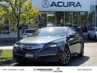 Used 2016 Acura TLX 3.5L SH-AWD V6, Backup Camera, Heated Seats for sale in Markham, ON