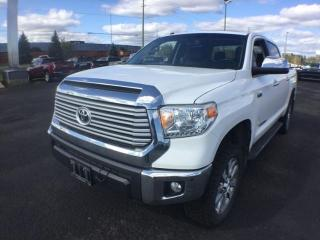 Used 2015 Toyota Tundra Limited  for sale in Thunder Bay, ON