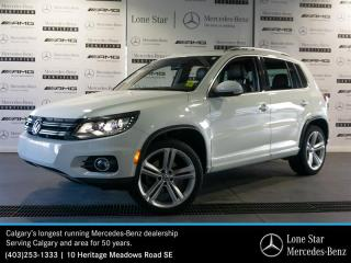 Used 2015 Volkswagen Tiguan Highline 6sp at Tip 4M for sale in Calgary, AB