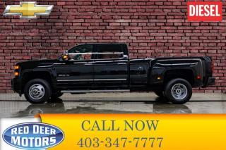 Used 2017 Chevrolet Silverado 3500HD 4x4 Crew Cab LTZ Dually Diesel Allison for sale in Red Deer, AB