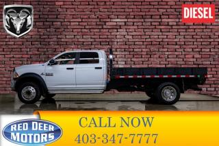 Used 2015 RAM 5500 4x4 Crew Cab SLT Deck Diesel AISIN for sale in Red Deer, AB