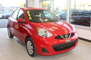 Used 2017 Nissan Micra SV AUTOMATIQUE MAIN LIBRE BAS KILOMÉTRAG for sale in Lévis, QC