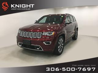 Used 2018 Jeep Grand Cherokee Overland V6 | Sunroof | Navigation for sale in Regina, SK