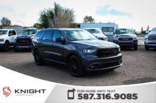 Used 2015 Dodge Durango SXT - AWD, Rear View Camera for sale in Medicine Hat, AB