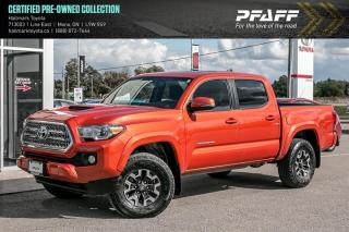 Used 2017 Toyota Tacoma 4x4 Double Cab V6 TRD Sport 6M for sale in Orangeville, ON