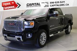 Used 2019 GMC Sierra 2500 HD Denali Crew Cab *LEATHER*SUNROOF*NAV* for sale in Regina, SK