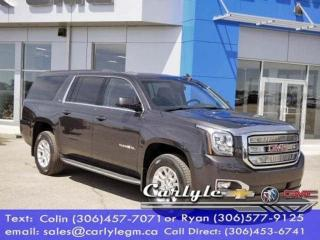 Used 2017 GMC Yukon XL HD Tow 18 in. Whls. Lthr 7Pass for sale in Carlyle, SK