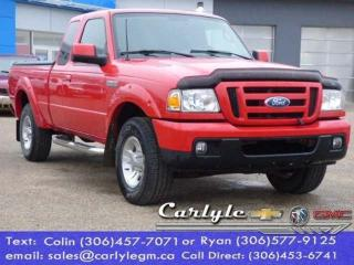 Used 2007 Ford Ranger Super Cab Ext. 2WD 5-Spd. Man for sale in Carlyle, SK