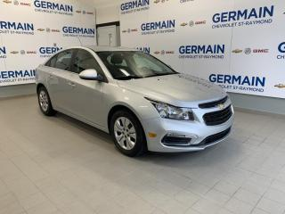 Used 2015 Chevrolet Cruze 1LT-AUTOMATIQUE - BAS KM- BLUETOOTH- AC for sale in St-Raymond, QC