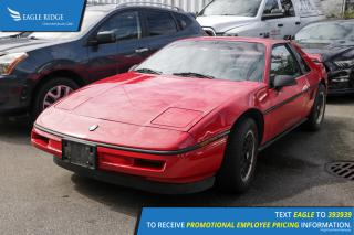 Used 1988 Pontiac Fiero for sale in Coquitlam, BC