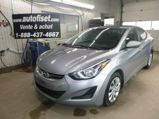 Used 2015 Hyundai Elantra 4dr Sdn Auto  GL for sale in St-Raymond, QC