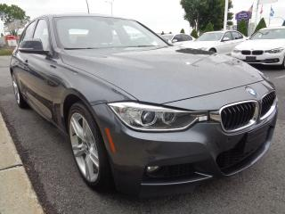 Used 2015 BMW 328 MSPORT NAVIGATION & REAR CAMERA for sale in Dorval, QC