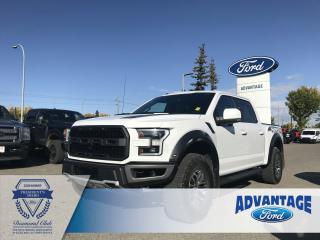 Used 2017 Ford F-150 Raptor RAPTOR - Pro-Trailer Backup - Heated Seats Front and Rear for sale in Calgary, AB