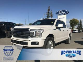 Used 2018 Ford F-150 Limited Trailer Tow - Leather Bucket Seats for sale in Calgary, AB