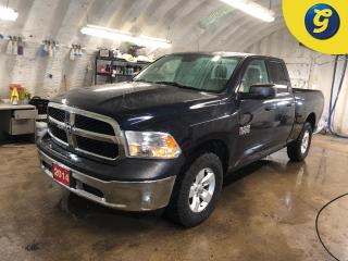 Used 2014 RAM 1500 SXT * 4X4 * Quad Cab * Automatic headlights * Tilt steering * 3.6L V6 * 3.21 Rear Axle * Auxiliary Transmission Oil Cooler *Phone connect * 8-Speed Au for sale in Cambridge, ON