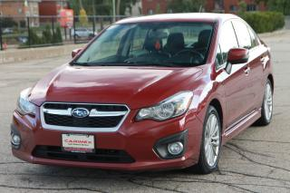 Used 2014 Subaru Impreza 2.0i Limited Package NAVI | Sunroof | NO Accidents | CERTIFIED for sale in Waterloo, ON