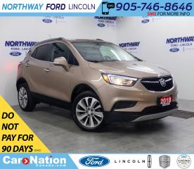 Used 2018 Buick Encore Preferred | AWD | BACK UP CAM | PUSH START | for sale in Brantford, ON