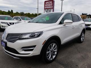 Used 2017 Lincoln MKC Select SUNROOF !!  NAVIGATION !! AWD !! for sale in Cambridge, ON