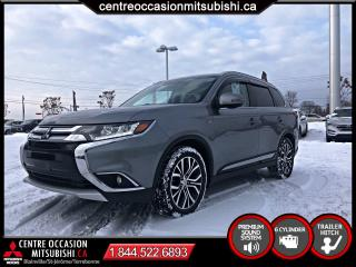 Used 2016 Mitsubishi Outlander GT S-AWC CUIR TOIT 7 PASS V6 for sale in St-Jérôme, QC