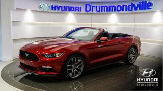 Used 2016 Ford Mustang ECOBOOST + GARANTIE + SHOWROOM !! for sale in Drummondville, QC