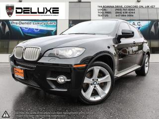 Used 2010 BMW X6 xDrive50i 2010 BMW X6  V8 AWD HEADS UP DISPLAY NAVIGATION RUNNING BOARD SPORT PKG 4.4-liter, 32-valve 400-hp $ for sale in Concord, ON