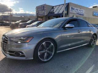 Used 2013 Audi S6 4.0T V8TURBO|420 HP|NAVI|LANE ASSIST|BLIND SPOT|CERTIFIED for sale in Concord, ON