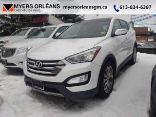 Used 2013 Hyundai Santa Fe LIMITED  TURBO LEATHER AWD !! for sale in Orleans, ON