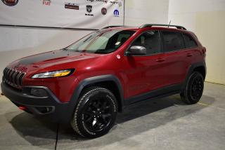 Used 2015 Jeep Cherokee Trailhawk+toit+navigation+cuir for sale in Sherbrooke, QC