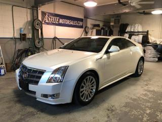 Used 2011 Cadillac CTS Coupe 2dr Cpe Premium AWD for sale in Kingston, ON