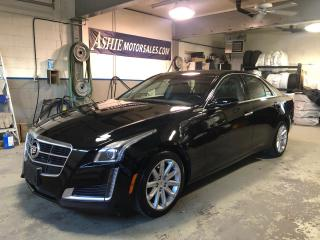 Used 2014 Cadillac CTS Sedan 4dr Sdn 2.0L Turbo AWD for sale in Kingston, ON